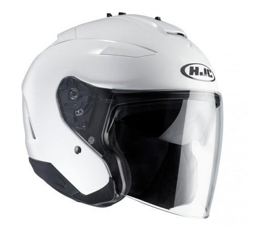 kask hjc is 33 ii bia y kaski kaski motocyklowe jet kaski hjc integralne szczekowe jet. Black Bedroom Furniture Sets. Home Design Ideas