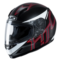 KASK HJC JUNIOR CL-Y GOLI BLACK/RED