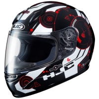KASK HJC JUNIOR CL-Y SIMITIC BLACK/RED