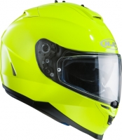 KASK HJC IS17 FLUORESCENT GREEN integralny z blendą + pinlock (antifog) GRATIS