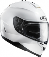 KASK HJC IS17 METAL PEARL WHITE RYAN integralny z blendą + pinlock (antifog) GRATIS