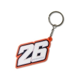 Brelok do kluczy DP26 Daniel Pedrosa Key Holder - DPUKH76706