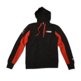 Bluza z kapturem MM93 Marc Marquez Fleece Black, Czarna - MMMFL61004