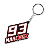 Brelok do kluczy MM93 Marc Marquez 93 Key Holder White, Biały - MMUKH104206