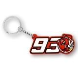Brelok do kluczy MM93 Marc Marquez 93 Ant Key Holder - MMUKH162103