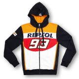 Bluza z kapturem REPSOL MM93 Marc Marquez 93 Fleece - REMFL148503